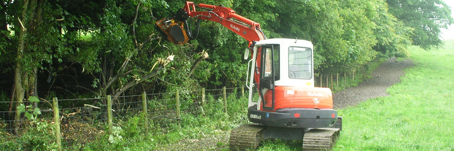 Mulching Lancaster | Flailing Preston | Site Clearance Lancashire